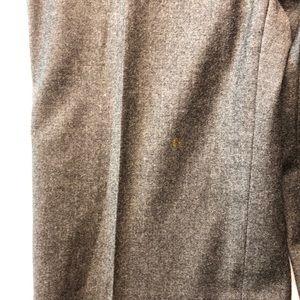 MaxMara Pants & Jumpsuits - Max Mara Weekend Wool Flannel Trousers Gray